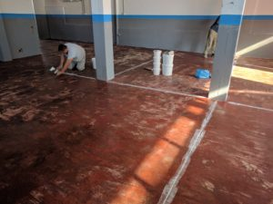 Covering Floor Joints in Epoxy Flooring