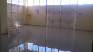 RAL7040 Industrial Epoxy Floor