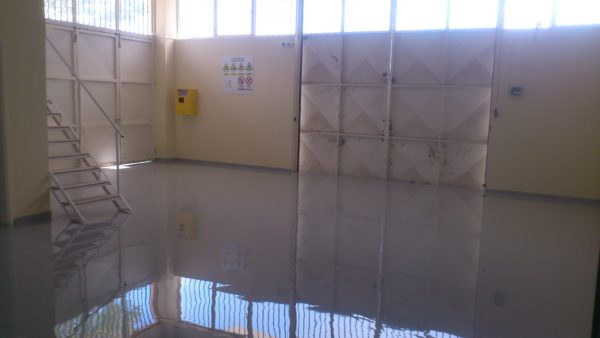 RAL7040 Self Leveling Industrial Epoxy Floor
