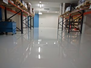 Self leveling epoxy KTISOFLOOR