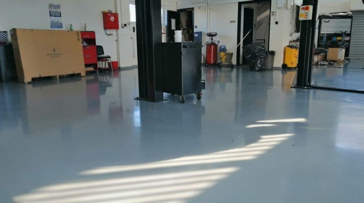 Epoxy floor how to get more customers